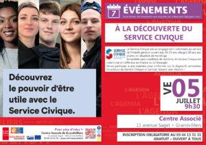 A la découverte du Service Civique @ Centre Associé Grandvilliers | Grandvilliers | Hauts-de-France | France