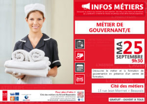 Gouvernant(e) @ Cité des métiers Beauvais | Beauvais | Hauts-de-France | France