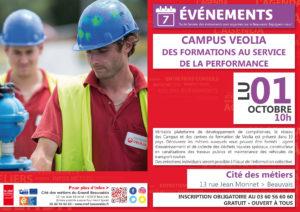 Campus VEOLIA : des formations au service de la performance @ Cité des métiers Beauvais | Beauvais | Hauts-de-France | France