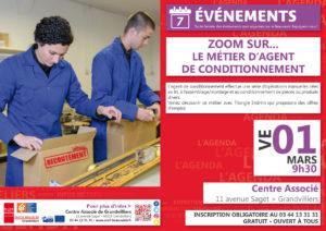 Zoom sur...le métier d'agent de conditionnement @ Centre Associé Grandvilliers | Grandvilliers | Hauts-de-France | France