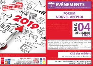 FORUM : Nouvel AN'ploi @ Cité des métiers Beauvais | Beauvais | Hauts-de-France | France
