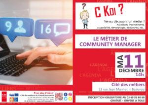 C Koi ? Le Métier de Community Manager @ Cité des métiers Beauvais | Beauvais | Hauts-de-France | France