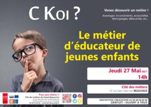 C Koi ? Le métier d'éducateur de jeunes enfants @ Cité des métiers Beauvais | Beauvais | Hauts-de-France | France