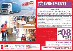Zoom sur...les métiers du transport, de la logistique et de l'Industrie @ Centre Associé Grandvilliers | Grandvilliers | Hauts-de-France | France