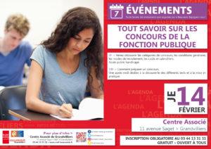 Tout savoir sur les concours de la fonction publique @ Centre Associé Grandvilliers | Grandvilliers | Hauts-de-France | France