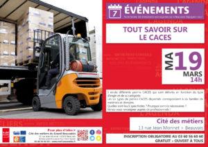 Tout savoir sur les CACES @ Cité des métiers Beauvais | Beauvais | Hauts-de-France | France