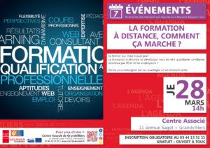 La formation à distance, comment ça marche? @ Centre Associé Grandvilliers | Grandvilliers | Hauts-de-France | France