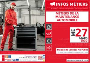 Métiers de la maintenance automobile @ Centre Associé Grandvilliers   Grandvilliers   Hauts-de-France   France
