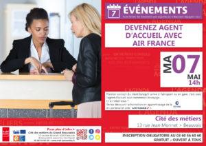 Devenez Agent d'accueil avec Air France @ Cité des métiers Beauvais | Beauvais | Hauts-de-France | France