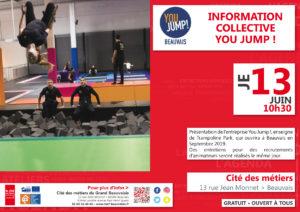 Information Collective You Jump ! @ Cité des métiers Beauvais | Beauvais | Hauts-de-France | France