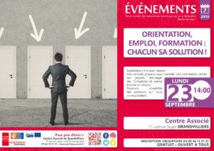 Orientation, Emploi, Formation : Chacun sa solution ! @ Centre Associé Grandvilliers | Grandvilliers | Hauts-de-France | France