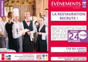 La Restauration recrute ! @ Cité des métiers Beauvais   Beauvais   Hauts-de-France   France
