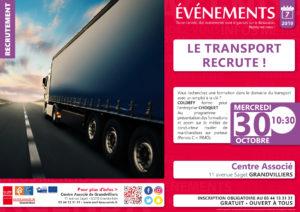 Le transport recrute ! @ Centre Associé Grandvilliers | Grandvilliers | Hauts-de-France | France