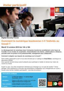 Digital Society Forum @ Centre Associé Grandvilliers | Grandvilliers | Hauts-de-France | France