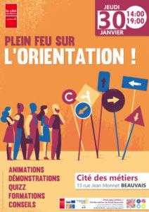 Plein feu sur l'orientation professionnelle ! @ Cité des métiers Beauvais | Beauvais | Hauts-de-France | France