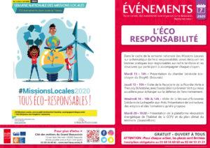 Semaine Nationale des Missions Locales : Tous Eco-responsables @ Cité des Métiers Beauvais | Beauvais | Hauts-de-France | France