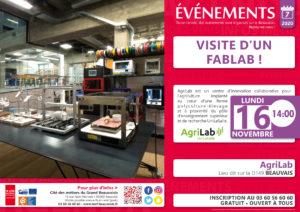 ANNULÉ - Visite d'un Fab Lab ! @ AgriLab | Beauvais | Hauts-de-France | France