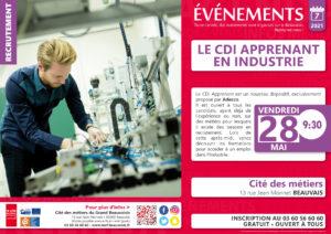 CDI Apprenant en Industrie @ Cité des Métiers Beauvais | Beauvais | Hauts-de-France | France