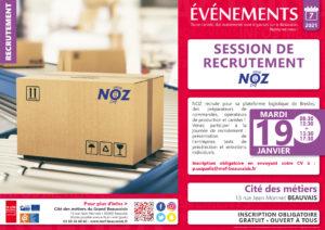 Session de recrutement NOZ @ Cité des Métiers Beauvais | Beauvais | Hauts-de-France | France
