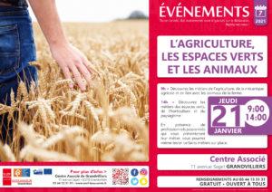 L'agriculture, les espaces verts et les animaux @ Centre Associé | Grandvilliers | Hauts-de-France | France
