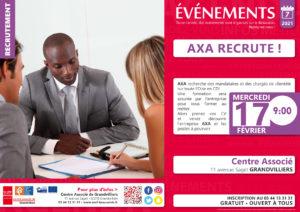 AXA recrute @ Centre Associé | Grandvilliers | Hauts-de-France | France