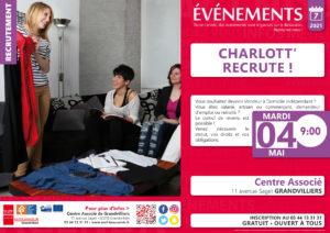 Charlott' recrute ! @ Centre Associé | Grandvilliers | Hauts-de-France | France