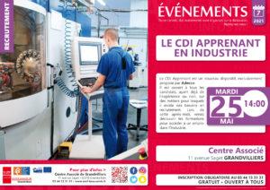 CDI Apprenant en Industrie @ Centre Associé | Grandvilliers | Hauts-de-France | France