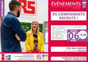 RS Components recrute ! @ Cité des métiers Beauvais | Beauvais | Hauts-de-France | France