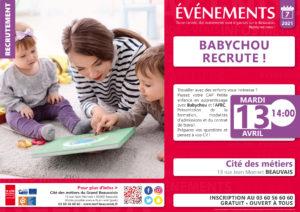 Babychou recrute ! @ Cité des métiers Beauvais | Beauvais | Hauts-de-France | France