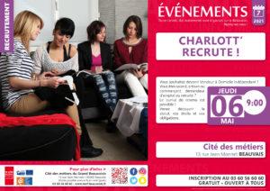 Charlott' recrute ! @ Cité des métiers Beauvais | Beauvais | Hauts-de-France | France