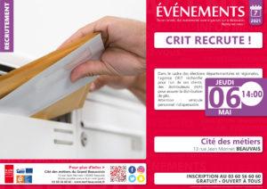 CRIT recrute ! @ Cité des métiers Beauvais | Beauvais | Hauts-de-France | France