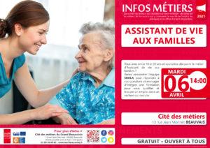 Assistant de vie aux familles @ Cité des métiers Beauvais | Beauvais | Hauts-de-France | France